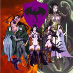 The Witch of Wyvern Tor by various artists.