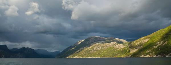 Lysefjorden by istid
