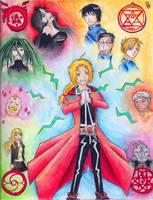 Fullmetal Alchemist- Electric by Diamond--InTheRough