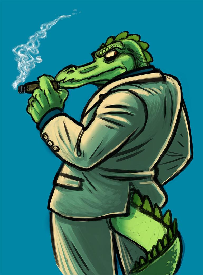 Gator Lawyer by evilengine9