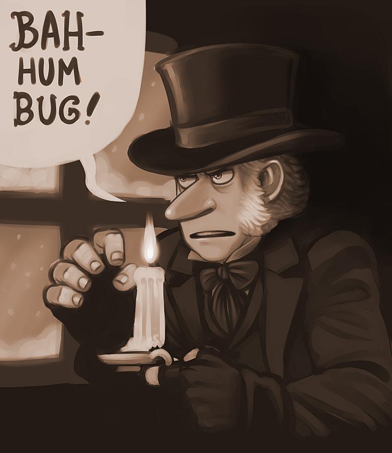 Bah Humbug by evilengine9