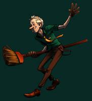 Broom dancin by evilengine9