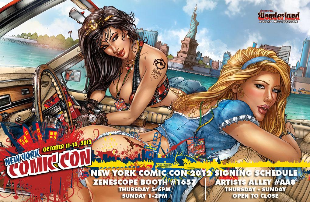 Comic Covers by Zenescope Artist - casper - 二手书店正式开张*