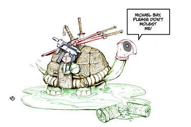 Ninja Turtle Pool by JwichmanN