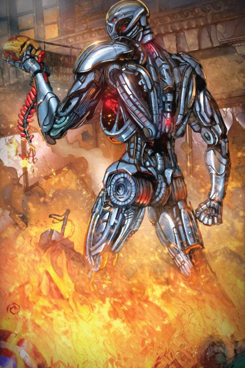 Ultron by JwichmanN