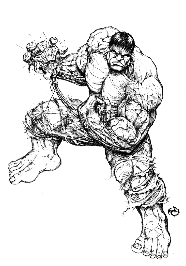 hulk by jwichmann on deviantart