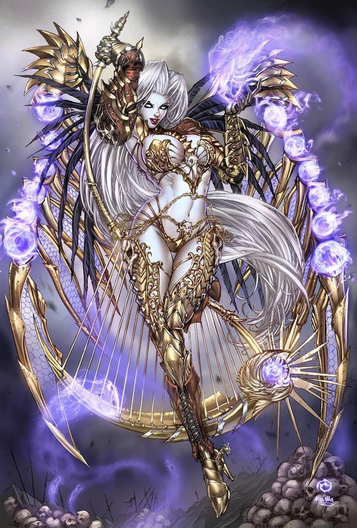 Lady Death Soul Siren by JwichmanN