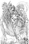 Lady Death Damnation Game Metallic Edition Lines