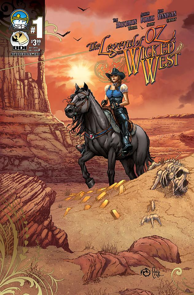 Legends of Oz: The Wicked West issue 1B by JwichmanN