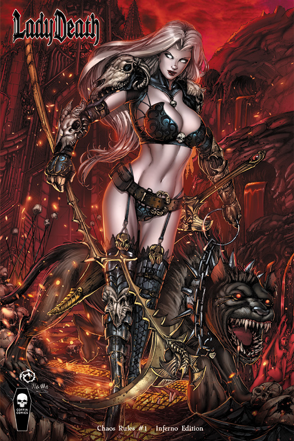 Lady Death: Chaos Rules Issue 1 - Inferno Edition by JwichmanN