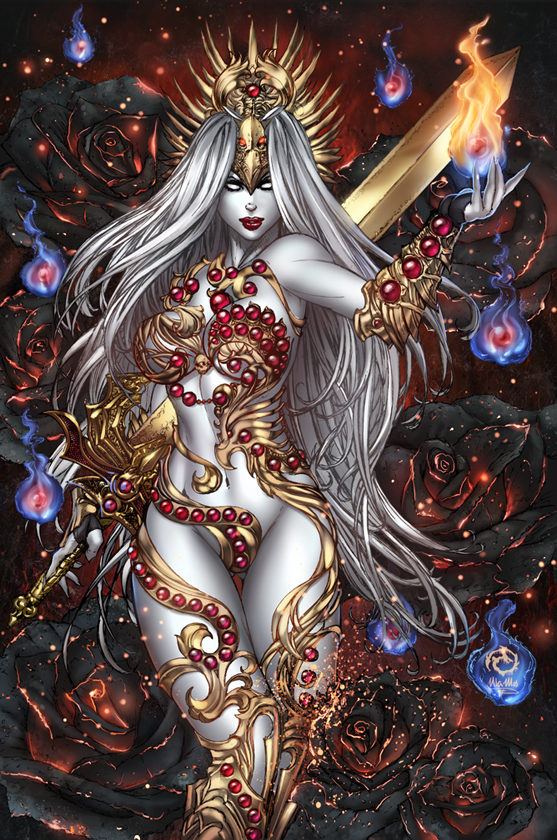 Lady Death - Extinction Express - Jeweled Edition by JwichmanN