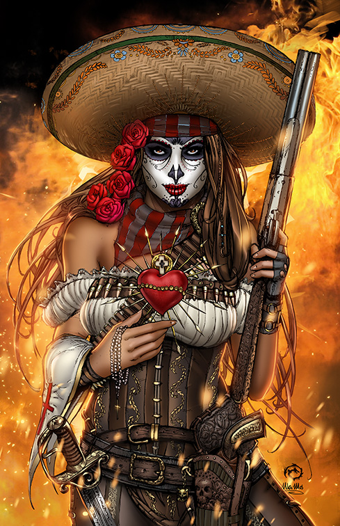 La Muerta - Last Rights Metal Variant by JwichmanN