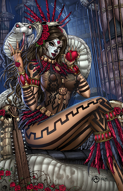 La Muerta - Last Rights Naughty Mama Z Variant by JwichmanN