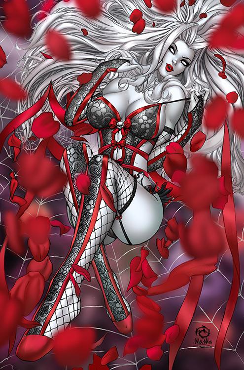 Lady Death: Oblivion Kiss Metal Mega Jewel Edition by JwichmanN