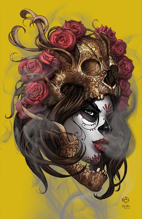 La Muerta - Vengeance #1 -Crystal Metalico variant by JwichmanN
