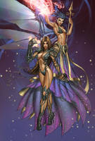 Witchblade and Soulfire by JwichmanN