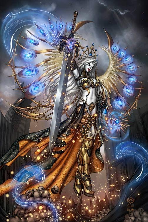 Lady Death Nightmare Symphony #1 by JwichmanN