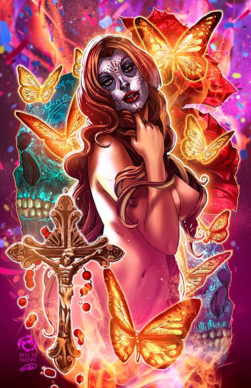 La Muerta: Ascension #1 - Rapture Edition by JwichmanN