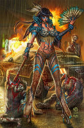 Princesses VS Zombies - Pocahontas