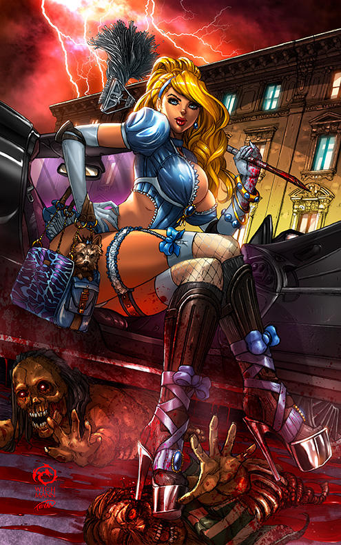 Princesses VS Zombies #1 - Cindy