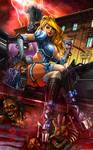 Princesses VS Zombies #1 - Cindy by JwichmanN