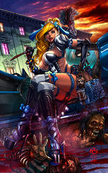 Princesses Vs Zombies #1 Cinderella Maid Squad