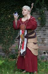 Dragon Age: Origins - Wynne by VioletDoubt