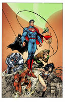Justice League by LazerBat