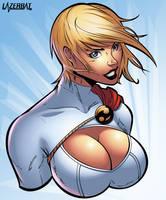 Power Girl Bust