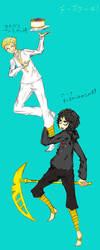 CHEESECAKED! (Zane and Cole) by Arikado12