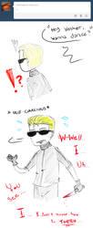 Hey Wesker, wanna dance? by Arikado12