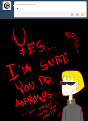 Anonymous loves my muse by Arikado12