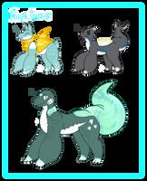 Aqua Gelz Adopts! (CLOSED) by JashJash