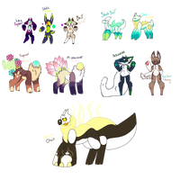 Mixed Closed Species | Adopts | OPEN by JashJash