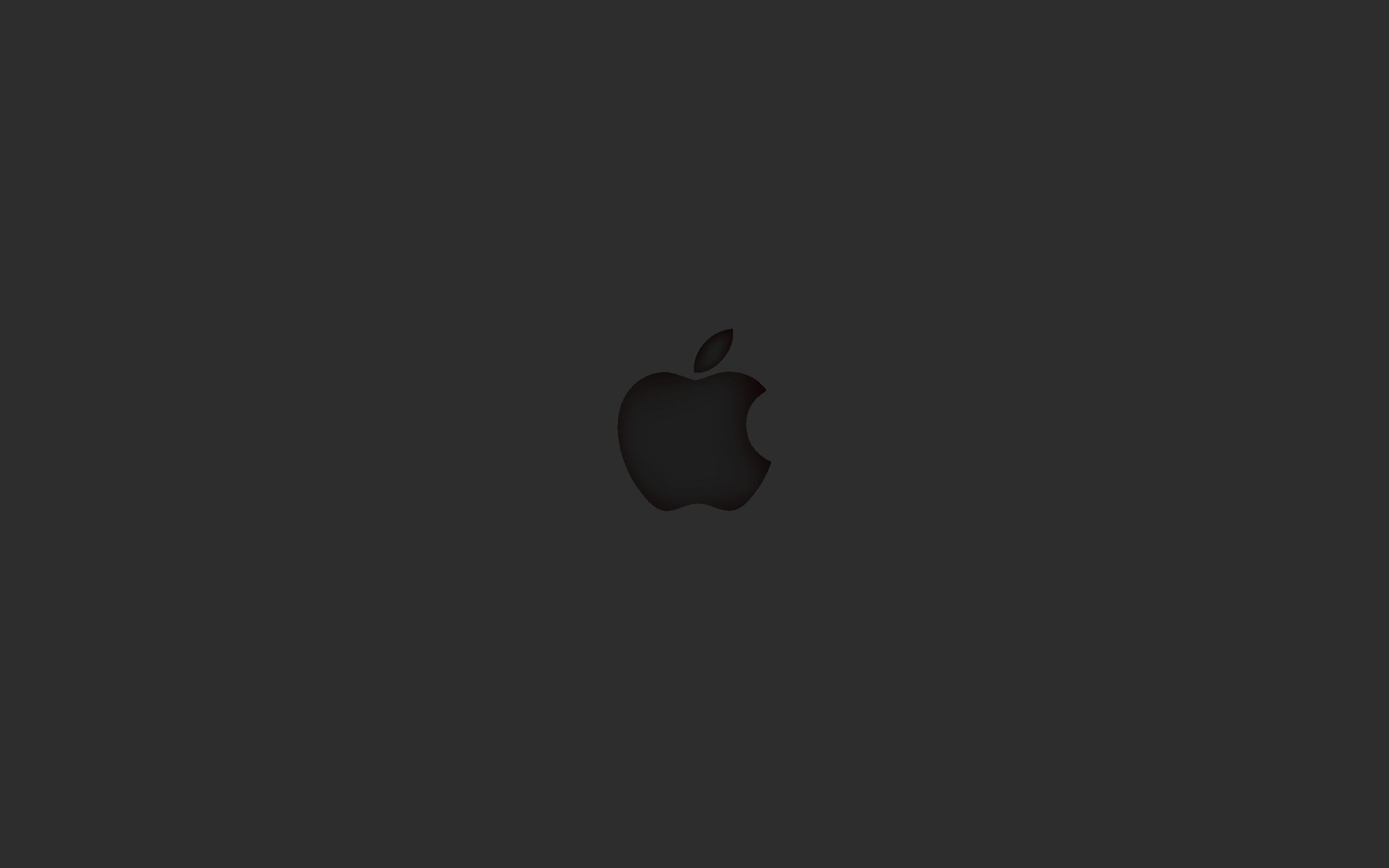 Apple Imprint Dark Wallpaper (2560 x 1600)