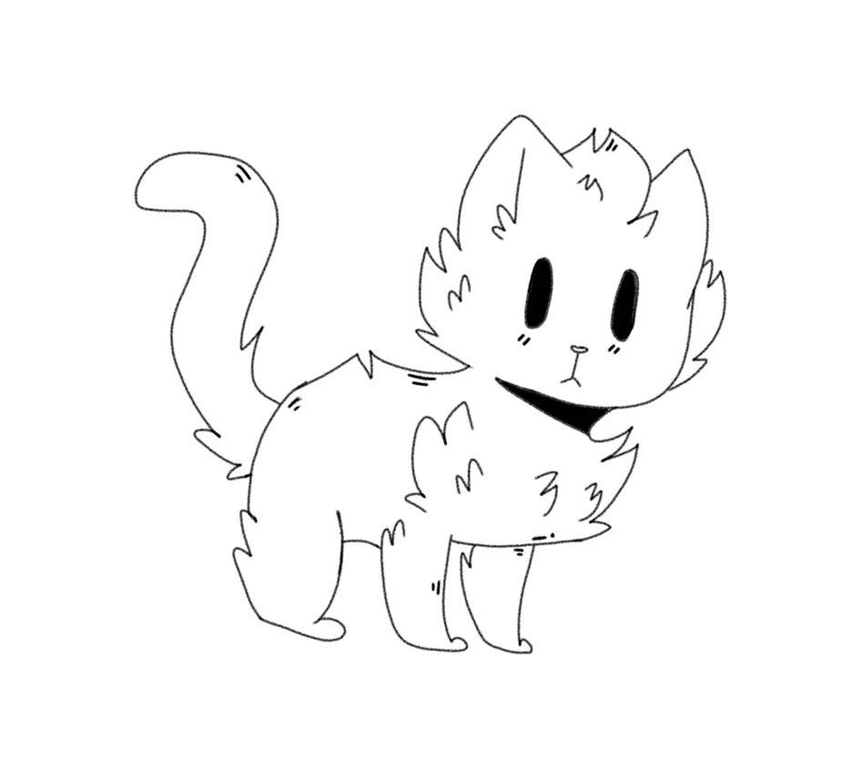 cat by Stonestripe