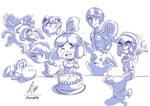 Happy Birthday Isabelle