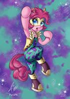 Pinkie Pie Mina Ashido costume - Boku no Hero by PyroPk