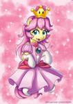 Fluttershy Super Crown costume - New Super Mario U