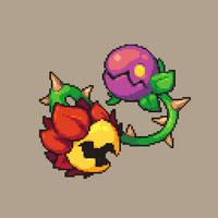 Plant Enemy concept art