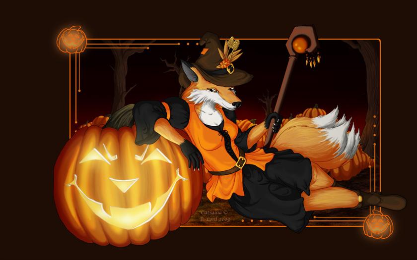 Halloween Cat by Tealya