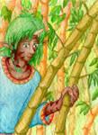 Bryoak in Bamboo by Tealya