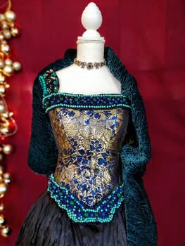 Anne Boleyn stage dress