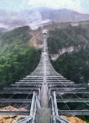 Skybridge  by Dimen-Zion