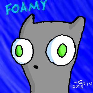 Foamy Oekaki by tigerqueen