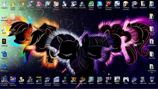 131222 Desktop by tigerqueen