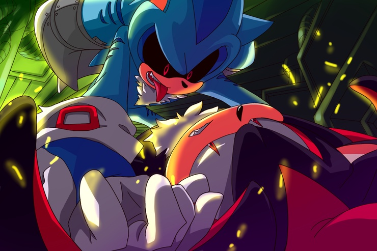 Sonic Fan Art By Yokeching On DeviantArt
