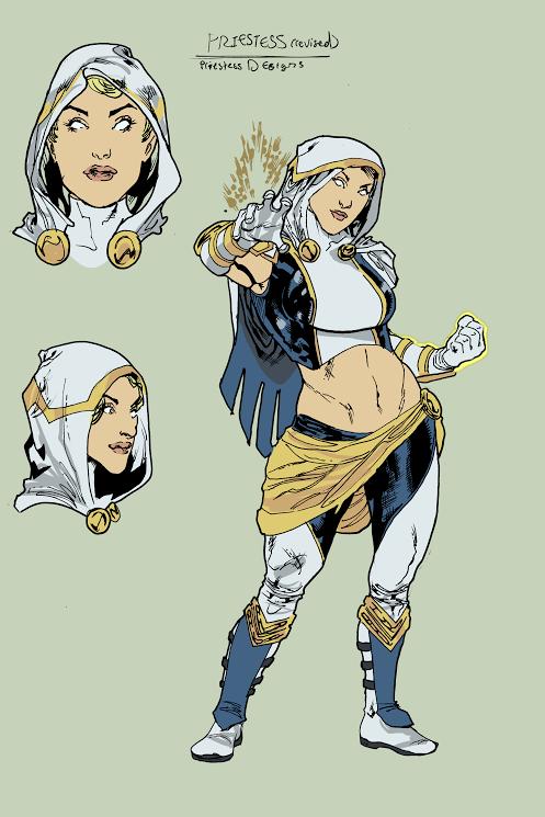 Priestess. Atlas Sketch by Not-Oliver