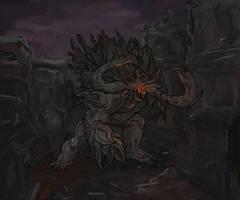Behemoth, Herokiller - Parahumans Fanart by Sulicius