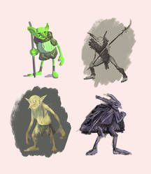 Style Experiments on Goblins